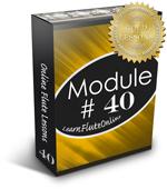 Module 40 Online Flute Lesson