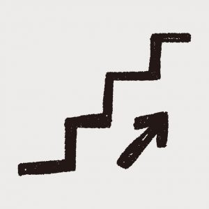 41315335 - stairs doodle